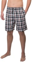 Izod Plaid Jams Shorts (For Men)