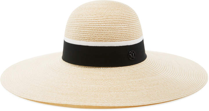 Maison Michel Blanche Timeless Canapa Straw