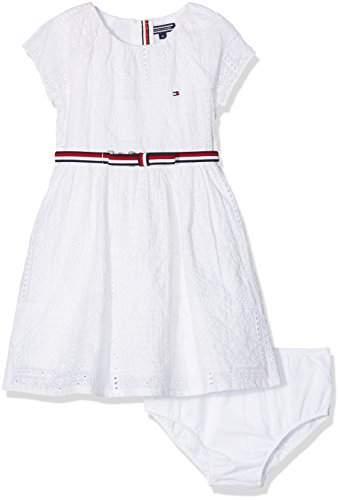 Tommy Hilfiger Baby Girls' AME Charming Shiffley S/s Dress