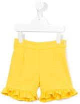 La Stupenderia ruffled shorts - kids - Cotton/Polyester - 5 yrs