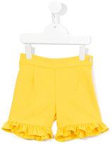 La Stupenderia ruffled shorts