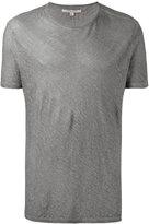 John Varvatos classic T-shirt - men - Linen/Flax - S