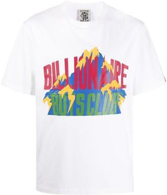 Billionaire Boys Club logo print short-sleeved T-shirt