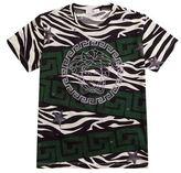 Versace Zebra Greca Print T-Shirt