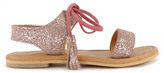 Little Karl Marc John Sale - Helly Iridescent Suede Sandals