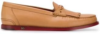 Dolce & Gabbana fringe details loafers