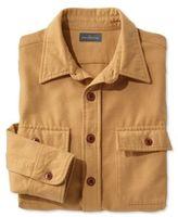 L.L. Bean Signature 1933 Chamois Cloth Shirt, Slim Fit