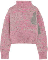 3.1 Phillip Lim Metallic Wool-blend Sweater - Pink