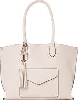 Dune Dockie leather look shopper bag
