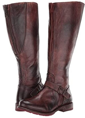 Bed Stu Glaye Wide Calf (Teak Rustic) Women's Boots