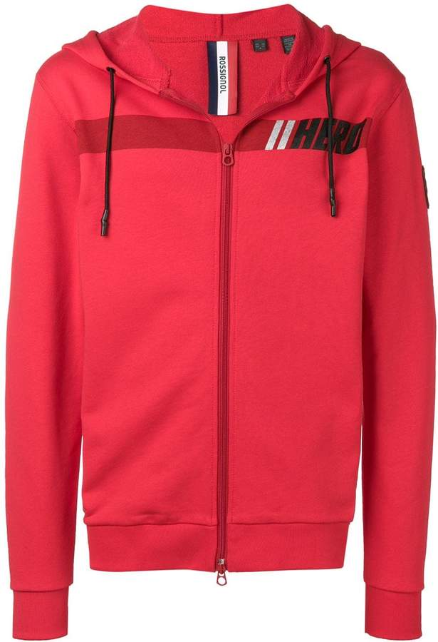 Rossignol Hero logo zipped hoodie