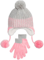 Berkshire 2-Pc. Ombrandeacute; Heidi Hat and Gloves Set, Little Girls (4-6X) and Big Girls (7-16)