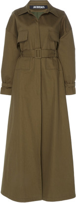 Jacquemus LONG BELTED TRENCH COAT