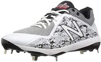 New Balance Men's L4040v4 Metal Baseball Shoe