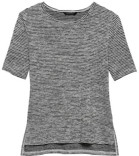 39159908c383b Black And White Stripe Maxi Skirt - ShopStyle