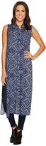Roper 0879 Navy Bandana Print Sleeveless Top Women's Sleeveless