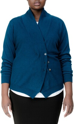 Universal Standard Curved Merino Wool Cardigan
