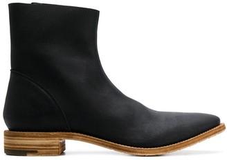 Premiata Flat Ankle Boots