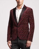 DSquared DSquared2 Tokyo Velvet Tuxedo Jacket