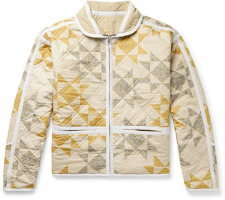 Isabel Marant Kilkis Quilted Printed Cotton Jacket