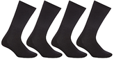 John Lewis Sport Cushion Sole Socks, Pack Of 4