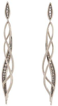 H.Stern Noble Gold and Diamond Grupo Corpo Earrings