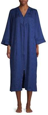 Miss Elaine Printed Embroidered Robe