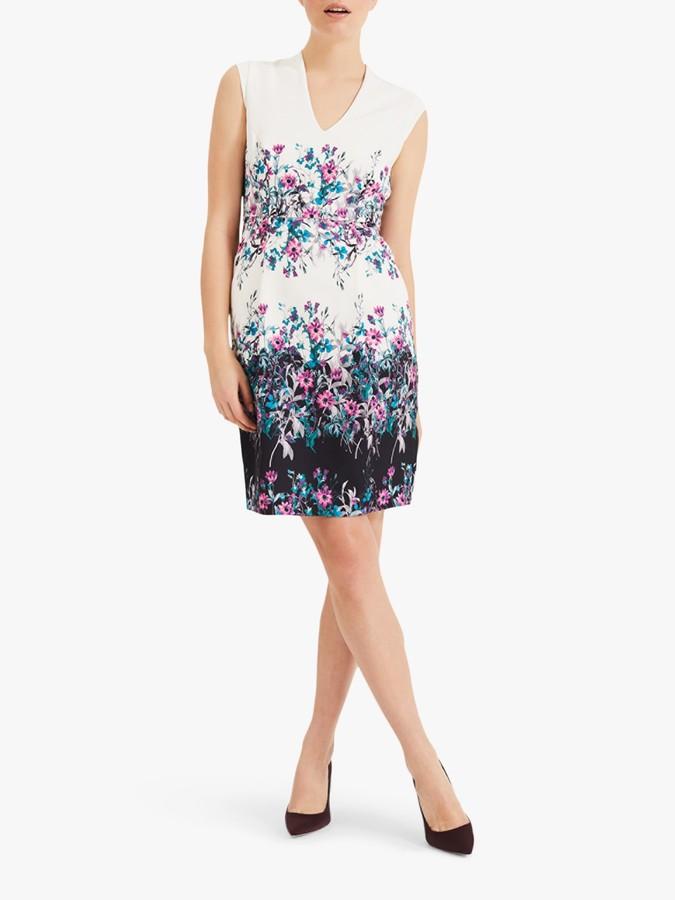 Phase Eight Dina Floral Print Dress, Multi