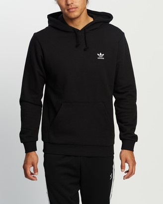adidas Men's Black Hoodies - Essential Hoodie - Size S at The Iconic