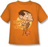 Mr. Bean Mr Bean - Juvy Respect The Teddy T-Shirt