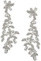 Kate Spade Crystal Ivy Statement Chandelier Earrings