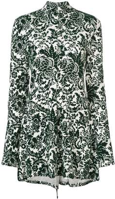 Rosie Assoulin paisley printed mini dress