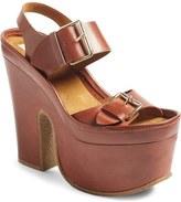 Stella McCartney Buckle Chunky Sole Sandal (Women)