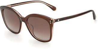 Kate Spade Pella Square Acetate Sunglasses