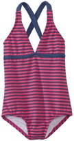 Splendid Girls' Malibu Stripe One Piece Swimsuit (4yrs6X) - 8140958