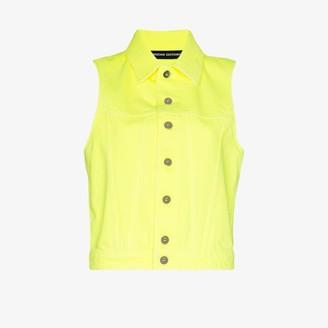 Kwaidan Editions sleeveless denim jacket