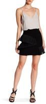 Opening Ceremony Stone Ruffled Mini Skirt
