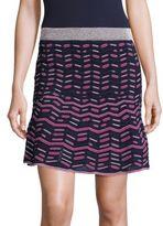 M Missoni Broken Zigzag Striped Skirt