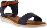 Spring Step Leather Ankle Strap Sandals - Ondina