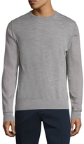 Lanvin Solid Ribbed Cuffs Sweater