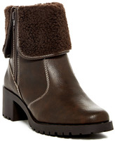 Aerosoles Boldness Faux Shearling Cuff Boot
