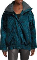 adidas by Stella McCartney Women's Floral Hooded Jacket