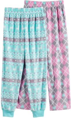 Cuddl Duds Girls 4-12 2-Pack Pants