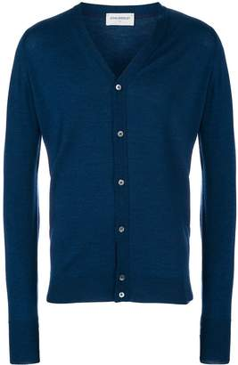 John Smedley classic fitted cardigan