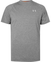 Under Armour Transport Mesh-panelled Jersey T-shirt - Gray