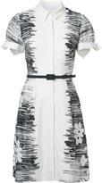 Carolina Herrera floral jacquard dress - women - Cotton/viscose - 6