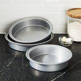 Crate & Barrel Set of 3 Nesting Cake Pans