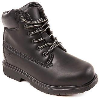 Deer Stags Little Kid/Big Kid Boys MAK2 Waterproof Insulated Work Boots Block Heel Wide Width