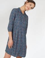 Fat Face Lena Jewel Geo Shirt Dress