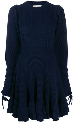 Ulla Johnson Puff Sleeve Knitted Dress